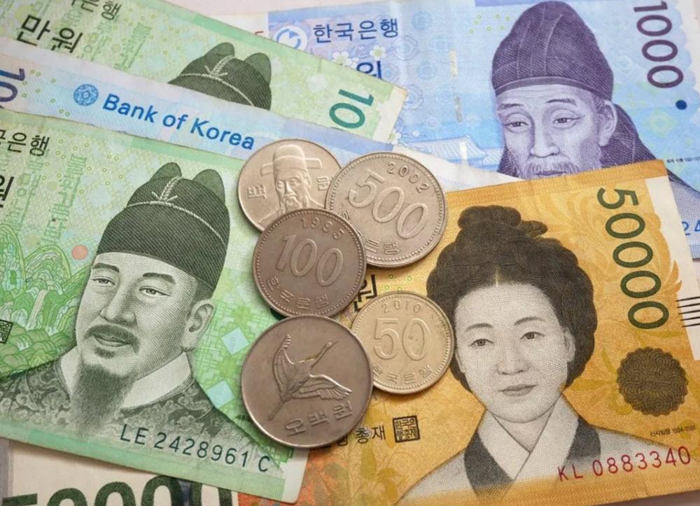South Korean won
